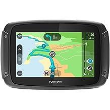 """TomTom RIDER 420 Portátil/Fijo 4.3"""" Pantalla táctil 280g Negro navegador - Navegador GPS (Toda Europa, Rusia, 10,9 cm (4.3""""), 480 x 272 Pixeles, Flash, MicroSD (TransFlash), 16 GB)"""