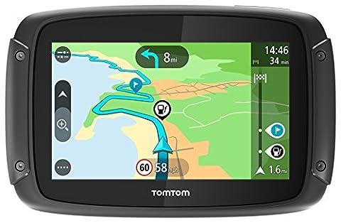TomTom Rider 420 Navigationsgerät (Cleveres Display, Karten-Updates, Europa 48 Länder, Traffic-Update, Radarkameras, Freisprechen) (Navigationsgerät Kaufen)