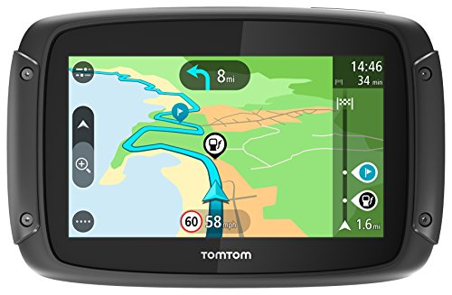 Tomtom Rider 42 - GPS Moto - Cartographie Europe 23, Trafic...
