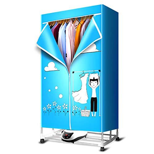 Guo@ vestiti da torrefazione domestico muto in acciaio inox asciugabiancheria pieghevole asciugatura rapida capacità di carico fino a 30kg di telecomando asciugacapelli per bambino abiti-asciugatrici