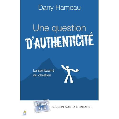 Question d'authenticité (Une)