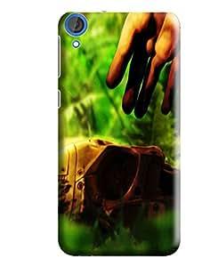 Hi-me Designer Phone Back Case Cover HTC Desire 820 :: HTC Desire 820 Dual Sim :: HTC Desire 820S Dual Sim :: HTC Desire 820Q Dual Sim :: HTC Desire 820G+ Dual Sim ( Skill Lone Mask Truth Fighter )