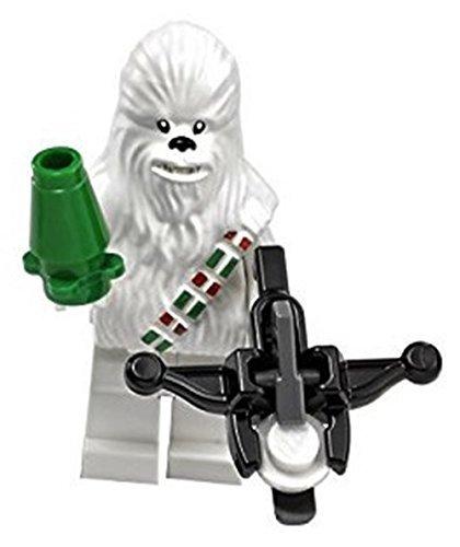 LEGO Star Wars – Minifigura Exclusiva de Chewbacca de la Nieve (de Calendario de adviento 75146) 2016