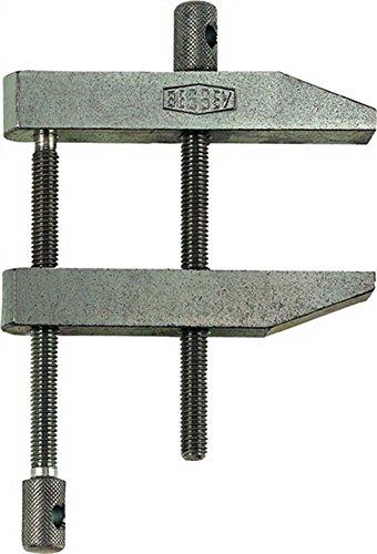 Parallel-Schraubzwinge Spannw.105mm Auslad.65mm doppelte Spindelführung