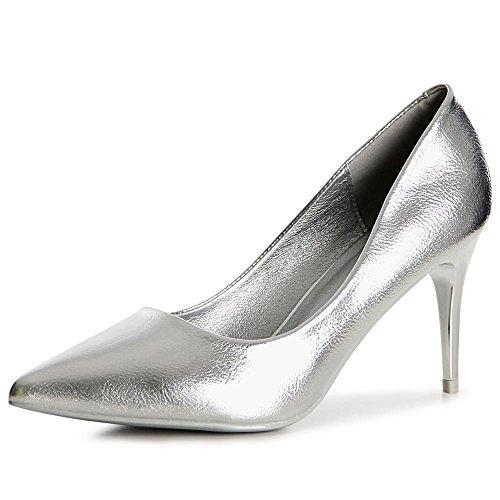 topschuhe24 , Escarpins pour femme Silber
