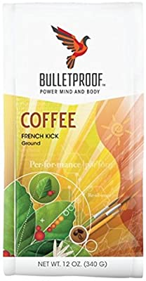 Bulletproof 'French Kick' Dark Roast Ground Coffee 340g by Bulletproof