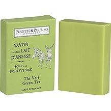 """Pflegende Seife mit Eselsmilch der Duftnote """"Grüner Tee"""" (Thé vert), 100 g"""
