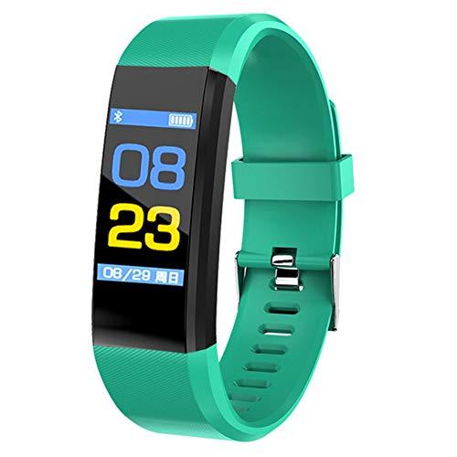 arthur sport fitness tracker band attività intelligente wristband impermeabile frequenza cardiaca monitor sonno, verde