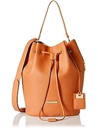 Stella Ricci Women's Shoulder Bag (Orange) (SR106HORA)