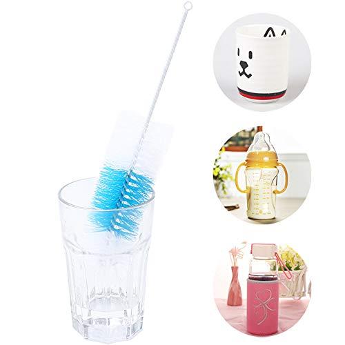 YCANK Home Reinigungsflasche mit langem Griff für Glasküche und Tassen -