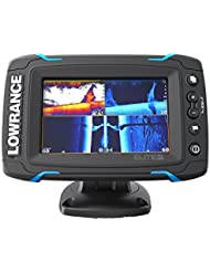 Lowrance Elite 5 Ti Transductor Mid/High/DownScan