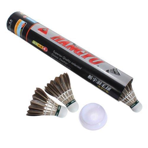 flyyfree-nuevo-12-x-entrenamiento-negro-pluma-de-ganso-badminton-bolas-de-badminton-birdies-juego-de