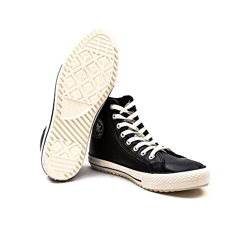 Converse Ct Vin Shr, Unisex-Erwachsene Hohe Sneakers Schwarz (Schwarz/Weiß)