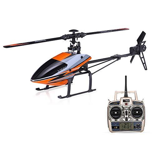 Gxscy V950 2.4G 6CH 3D 6G système RC hélicoptère avec Moteur Brushless Flybarless RTF Toys Plus Fort Vent Résistance Cadeau