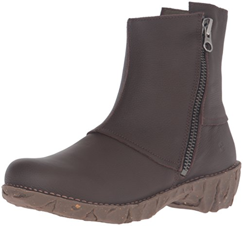 El Naturalista Ne28 Soft Grain Yggdrasil, Stivaletti Donna Marrone (Brown)