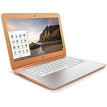 """HP Chromebook 14-x097nf PC portable 14"""" Orange (Nvidia Tegra, 2 Go de RAM, 16 Go de SSD, Chrome OS)"""