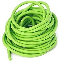 NO LOGO L-Yune, Tubo Durable de Goma de la Banda del látex Natural elástico Verde de los 5M para la Caza Slingshot Catapult