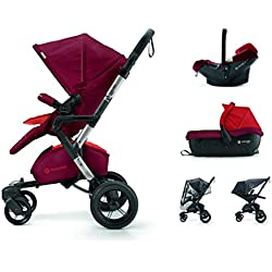 Concord T.S.Neo Air-Sleeper - Silla y capazo, grupo 0+, color flaming red