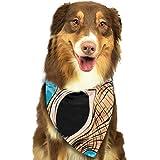 Osmykqe - Sciarpa Colorata per Cani con Conchiglie Tropicali e Icona Subacquea