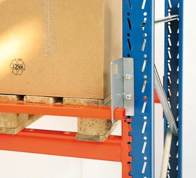 Durchschubsicherung für Palettenregal, für Fachbre ite 3600 mm