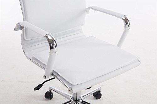 Poltrona Ufficio Bianco : Clp sedia ufficio enzo xl in similpelle sedia presidenziale