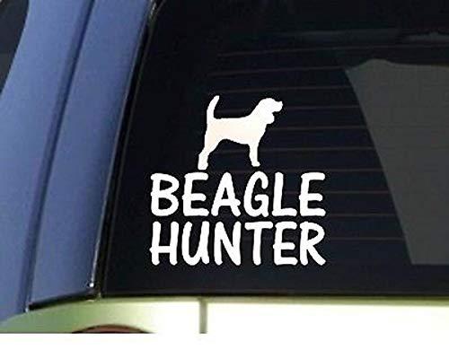 CELYCASY Beagle HunterH902 15,2 cm Aufkleber Kaninchen Jagd Hund Box -