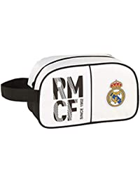 Real Madrid 811854248 2018 Bolsa de Aseo, 26 cm, Blanco