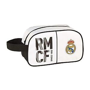 41ha7HWDjYL. SS300  - Real Madrid CF Neceser, Bolsa de Aseo Adaptable a Carro.