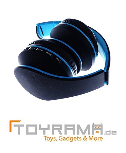 4 in 1 Bluetooth Kopfhörer - Blau