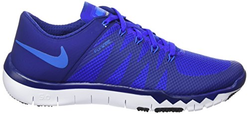 Nike Free Trainer 5.0 V6, Scarpe Da Corsa Pour Hommes Multicolores (dp Ryl Blue / Pht Bl-rcr Bl-blk)