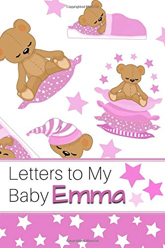 Letters to My Baby Emma: Personalized Journal for New Mommies with Baby Girl's Name por Sweet Letter Press