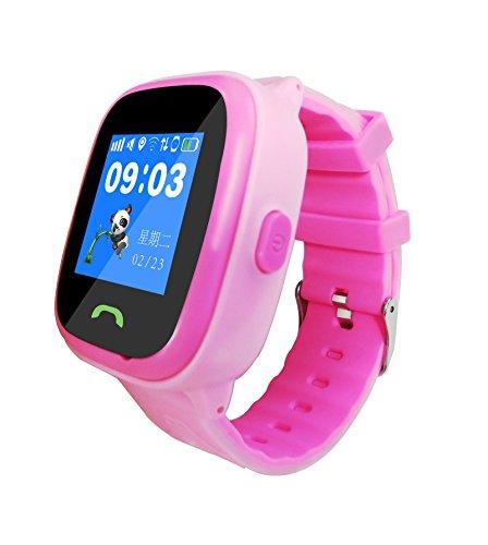 Reloj inteligente de posicionamiento triple para niños, de Super-Life, GPS y GPRS, con pantalla táctil, impermeable, con sistema antipérdida, función de llamada de emergencia y soporte para teléfono Android e iOS
