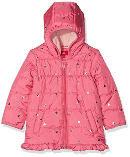 s.Oliver RED LABEL Unisex - Baby Wintermantel mit Metallic-Muster pink AOP 86
