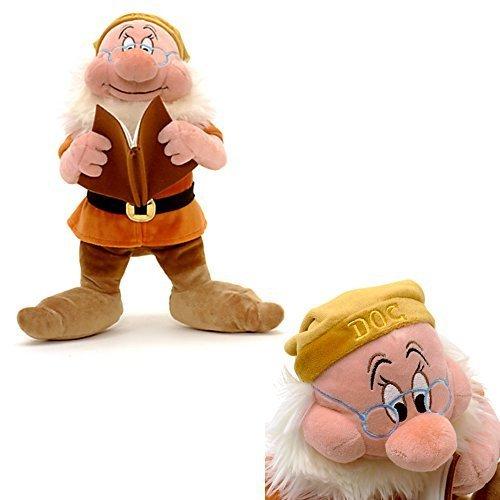 Offizielle Disney Schneewittchen u Die sieben Zwerge Doc 30cm weiches Plüsch-Spielzeug