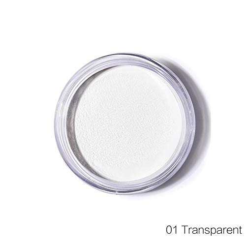 Allbesta Mineral Loose Finishing Setting Make-up Powder Soft Matte Oil-control Face Smooth Flaws -
