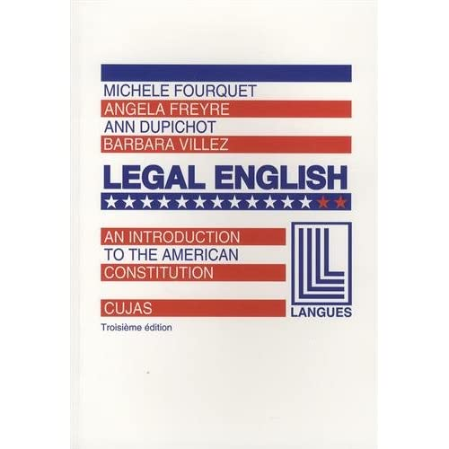 Legal English 2 An introduction to the American Constitution