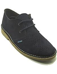 K901PC - Zapato safari combinado negro - negro (40)
