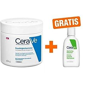 CeraVe Feuchtigkeitscreme 454 g + gratis Reinigungslotion