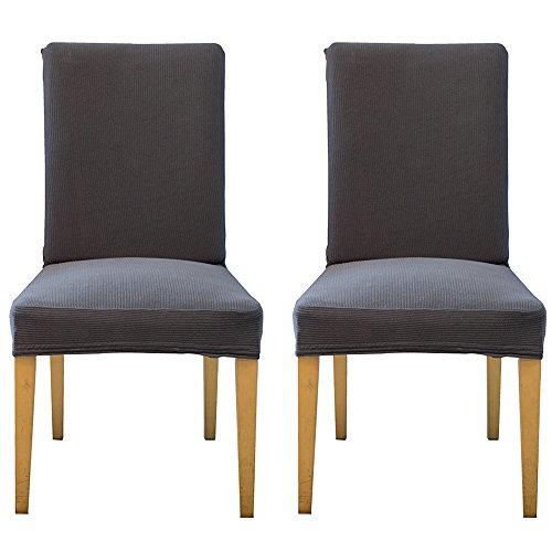 Decdeal Stretch Stuhlbezug Stretchhusse Stuhl Abdeckung für die Meisten Stühle