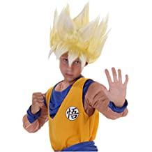 funcostumes niño peluca super Saiyan Goku