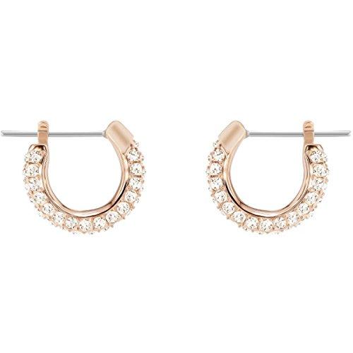 Swarovski orecchini a cerchio donna placcato_oro - 5446008