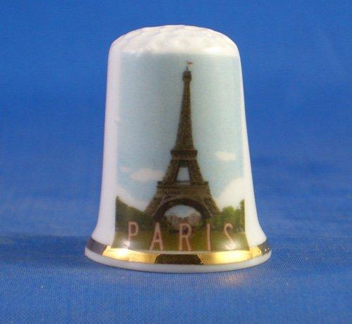 birchcroft Porzellan China zum Sammeln Fingerhut–Serie-Travel Poster–Paris
