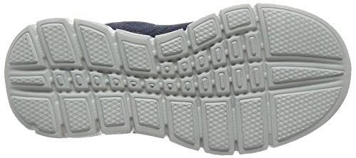 Skechers Jungen Equalizer 2 Settle the Scor Sneakers Blau (Navy/Lime)