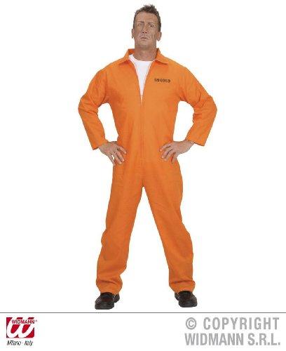 KOSTÜM - GEFANGENER - L (Gefängnis Halloween Kostüme)