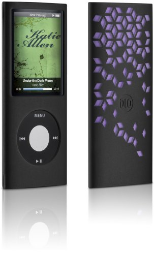 DLO 63016 Jam Jacket Grafik für Apple iPod Nano 4. Gen lila -