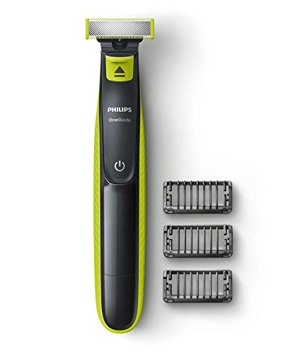 Price comparison product image Philips QP2520 / 25 OneBlade Rechargeable Facial Trim Edge Shave Hair Trimmer with 3 x Styling Combs