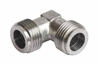UNIVERSEL - RACCORD COUDE GAZ 1/2 MALE 1/2 MALE PLANCHA - 3543249019