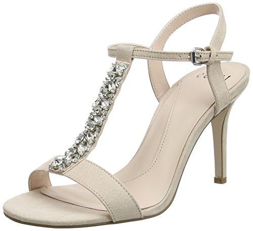 Coast Katy, Scarpe Col Tacco con Cinturino Dietro la Caviglia Donna Rosa (Blush)