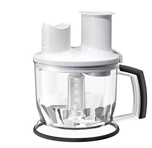 Braun Multiquick MQ 70 EasyClick Küchenmaschinen-Aufsatz (1,500 ml) weiß
