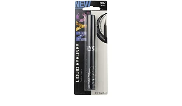La Girl Line Art Matte Eyeliner Review : Buy new york color liquid eyeliner black a online at low